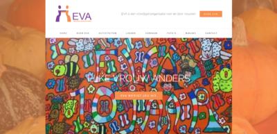 nieuwe website eva